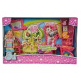 Simba Evi Love w supermarkecie, lalka z akcesoriami