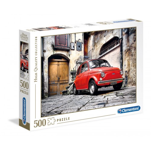 CLEMENTONI PUZZLE HQ COLLECTION 500 EL. FIAT 30575