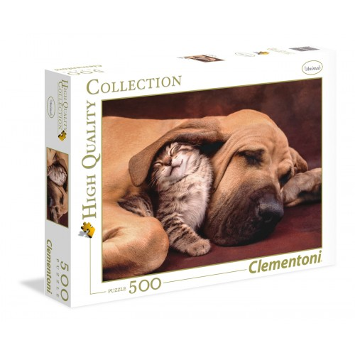 CLEMENTONI PUZZLE CUDDLES 500 EL. 35020 HQ COLLECTION