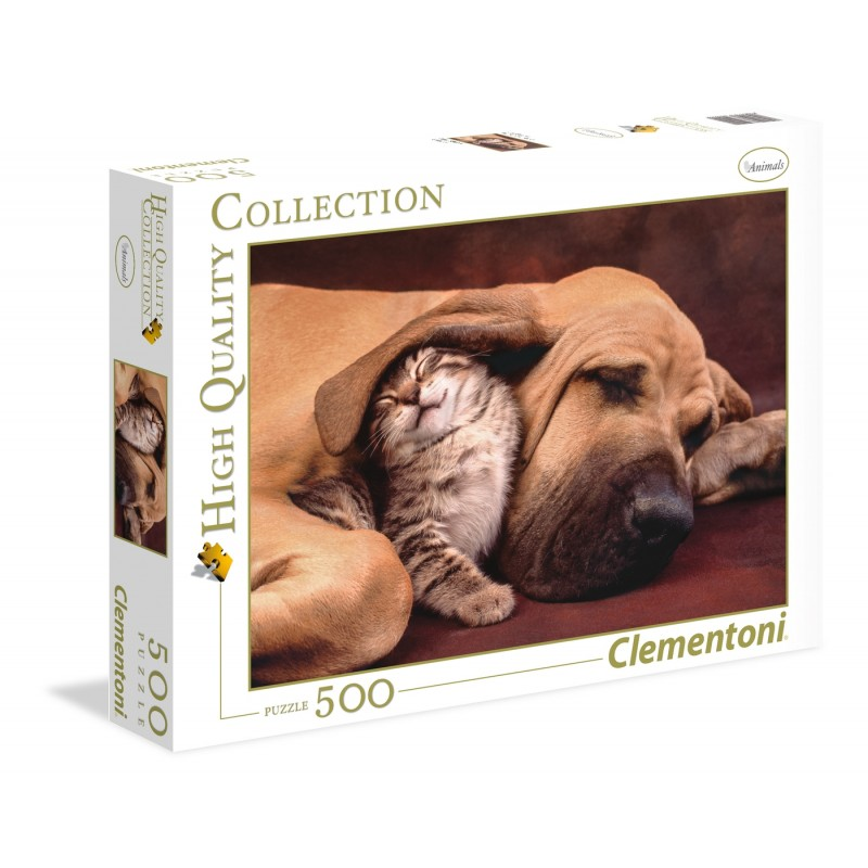 CLEMENTONI PUZZLE CUDDLES HQ COLLECTION 500 EL. 35020