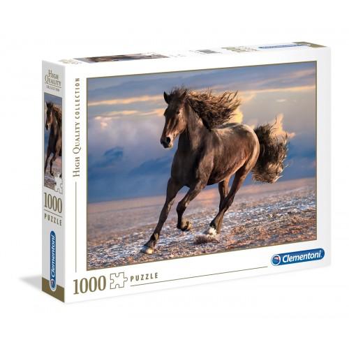 CLEMENTONI PUZZLE FREE HORSE 1000 EL. 39420 HQ COLL.