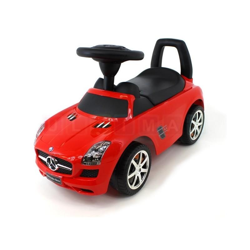 Jeździk samochód Mercedes SLS - licencja odpychacz