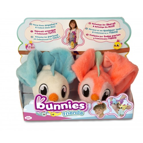 Bunnies friends 2 ptaszki zmagnesem 97834 TM Toys