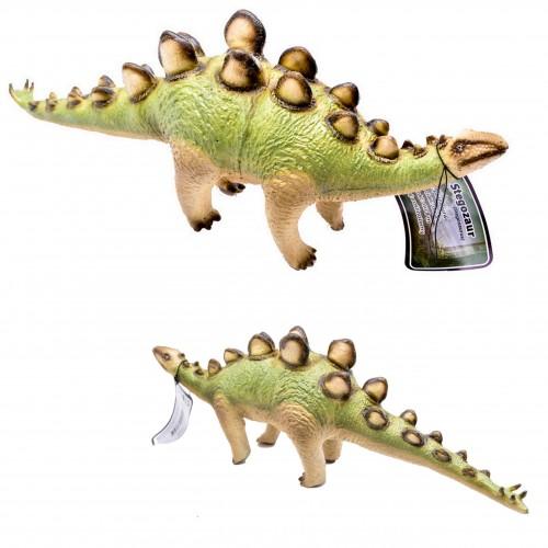 Dinozaur stegozaur figurka gumowa 32 cm malowana sfera