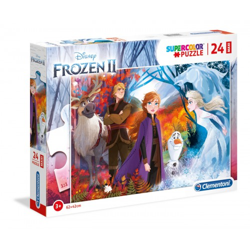 Puzzle Frozen II 2x20 el. Supercolor