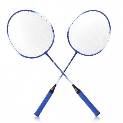 Badminton zestaw 2 rakiet paletki  + lotka badminton