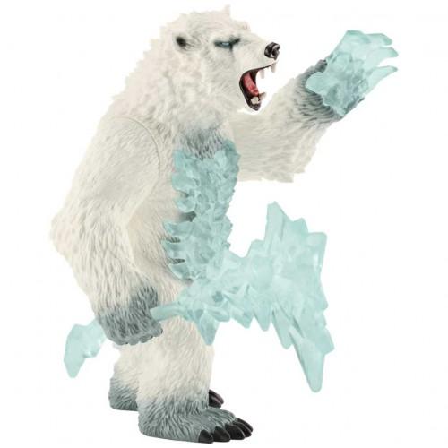Schleich Figurka Eldrador Blizzard Niedzwiedź 42510