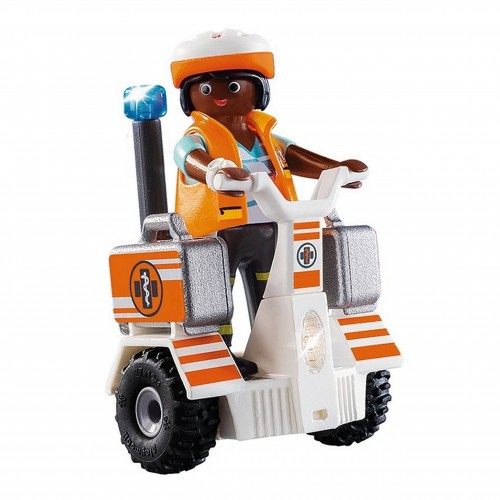 Playmobil 70052 pojazd ratowniczy Balance Racer City Life z światłem