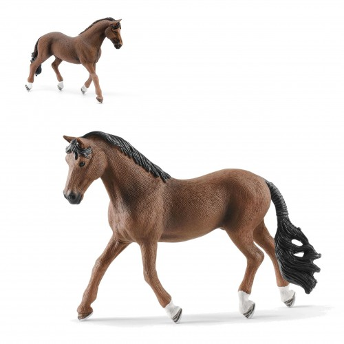 Schleich 13909 koń wałach trakehner duża figurka konia