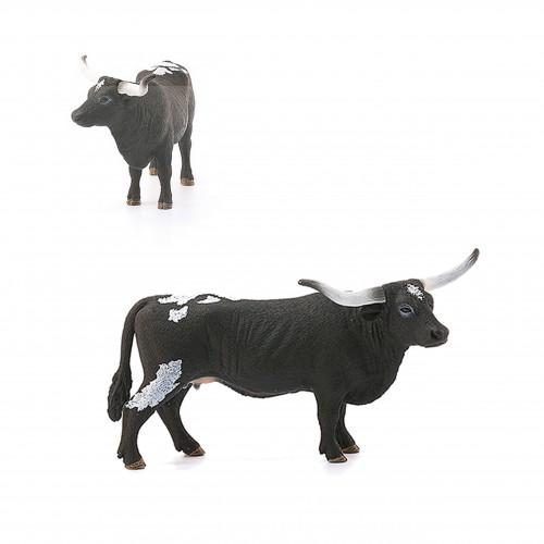 Schleich 13865 krowa rasy Texas longhorn duża figurka krowy