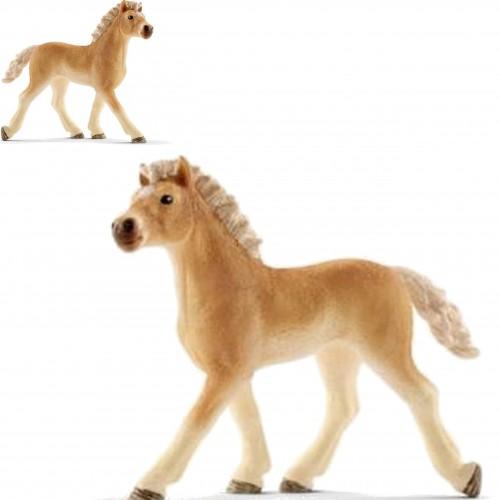 Schleich 13814 źrebię rasy haflinger figurka konia