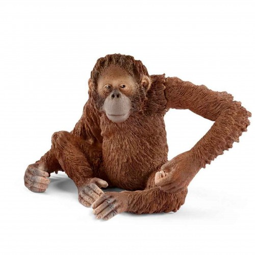 Schleich 14775  samica orangutan figurka małpy