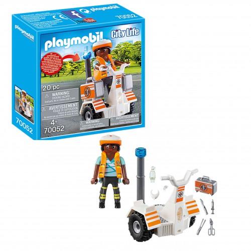 70052 Playmobil Pojazd ratowniczy Balance Racer City Life z światłem