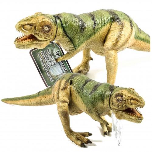 Dinozaur tyranozaur figurka gumowa 49 cm malowana XL