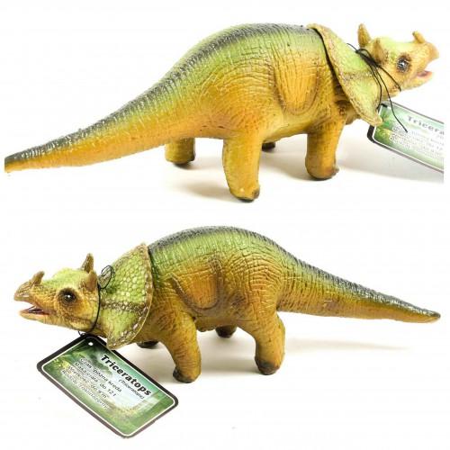 Dinozaur Ceratzaur figurka  gumowa 32 cm malowana