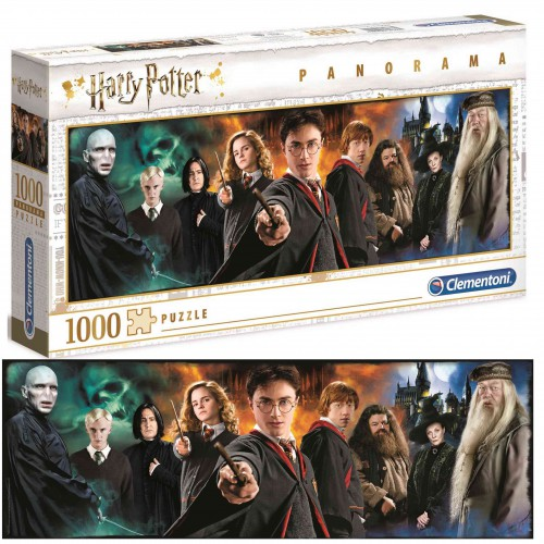 PUZZLE 1000 ELE. Harry Potter Panorama Clementoni