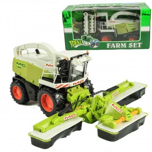 Duży KOMBAJN Ruchome Elementy Traktor XXl