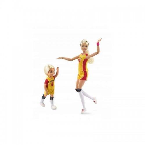 Barbie Siatkarka i Chelsea - Trening Siatkówki
