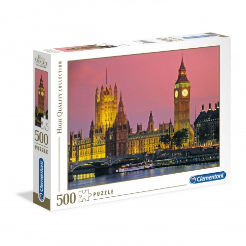 Puzzle  500 elementów Londyn  Big Ben - układanka
