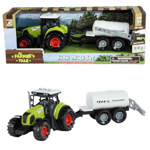 Traktor przyczepa dźwięki napęd ciągnik