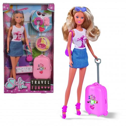 Lalka Steffi walizka lalka w podróży