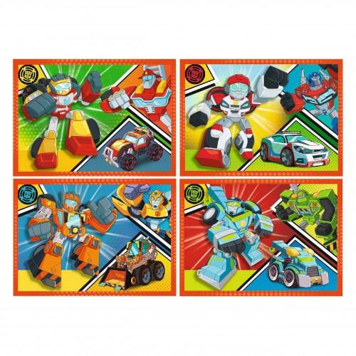 Puzzle 4w1 Transformers układanka