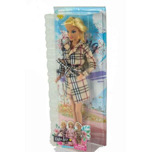 Lalka Lucy płaszcz lalki Defa szpilki
