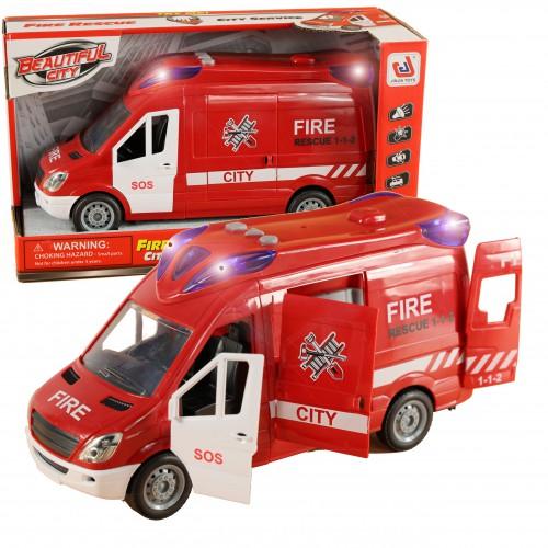 Interaktywna Straży Pożarnej Bus Wóz