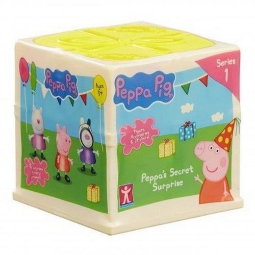 Świnka Peppa domek Sekretna Niespodzianka figurki