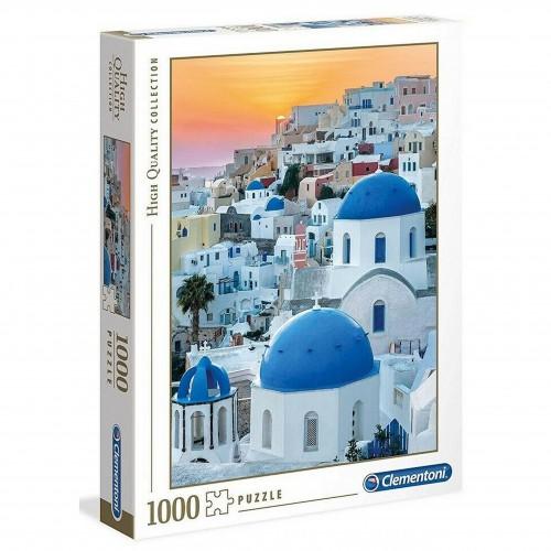 Puzzle 1000 Grecja Santorini układanka