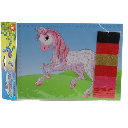 Mozaika zestaw kreatywny wyklejanka dla dzieci