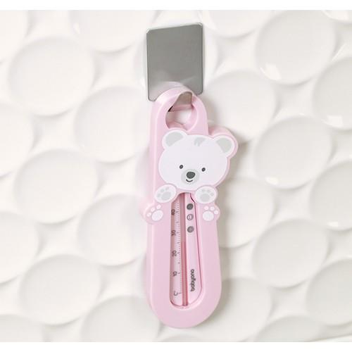 Termometr do wody różowy miś dla niemowląt