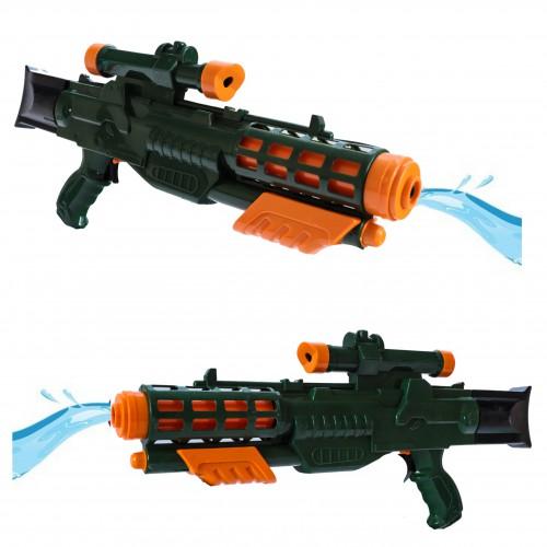 Duży pistolet na wodę z pompką militarny styl