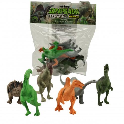 Zestaw Figurek Prehistoryczne Zwierzęta dinozaury