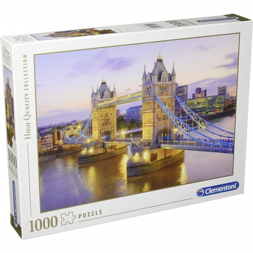 Puzzle 1000 Tower Bridges Londyn Clementoni