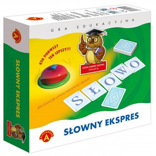 Słowny Expres gra edukacyjna gra słowna